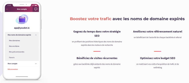 Booster son trafic avec Youdot