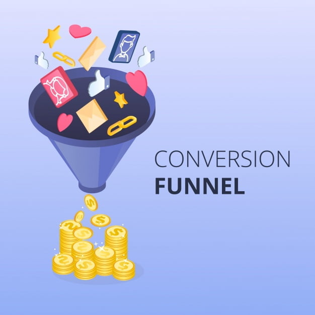 Conversion funnel avec Kartra