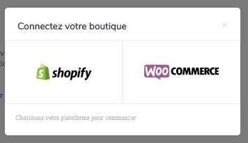 Shopify et Woocommerce sur Spocket