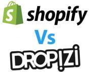 Shopify ou Dropizi