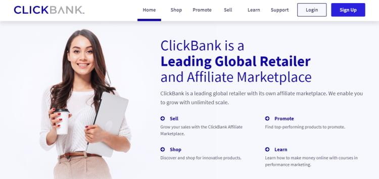 Connexion à ClickBank
