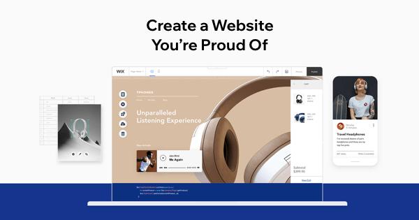 Création de sites avec Wix