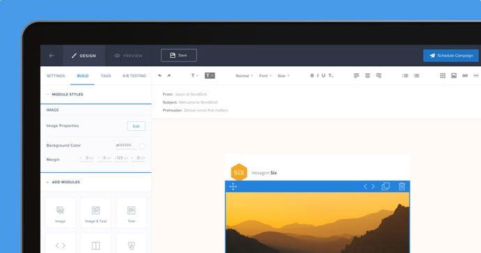 Envoi d'emails avec SendGrid