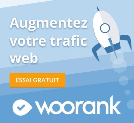 Essai gratuit Woorank