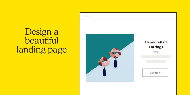 Landing pages avec Mailchimp