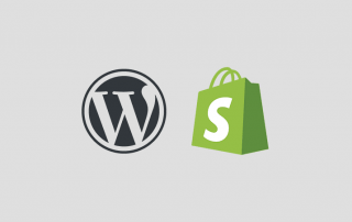 Shopify ou Wordpress