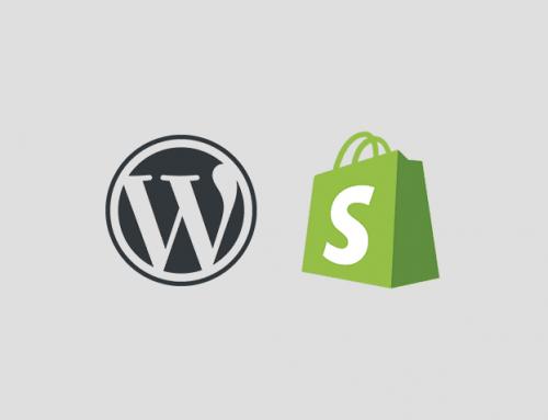Qui de WordPress ou de Shopify choisir comme CMS pour du e-commerce?