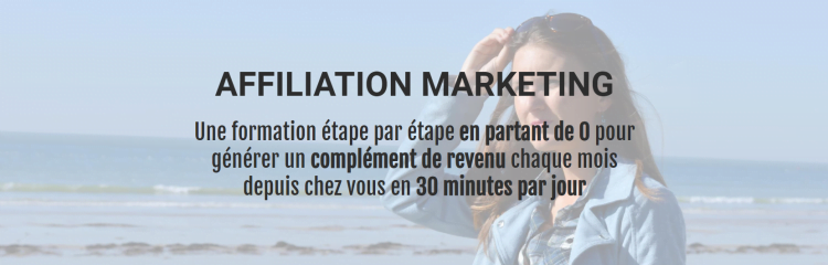 Affiliation Marketing avec Nina Habault