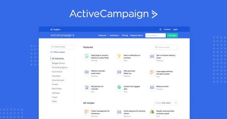 Présentation d'ActiveCampaign