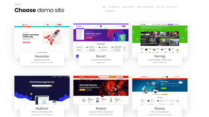 Démo ThemeForest