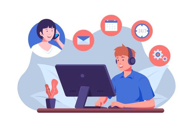support client téléphonique