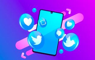 Telephone Icon Twitter