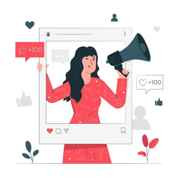 dessin femme marketing