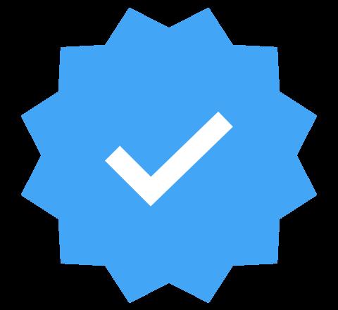 Badge certification Instagram