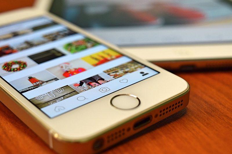 telephone instagram