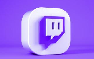 Logo image Twitch