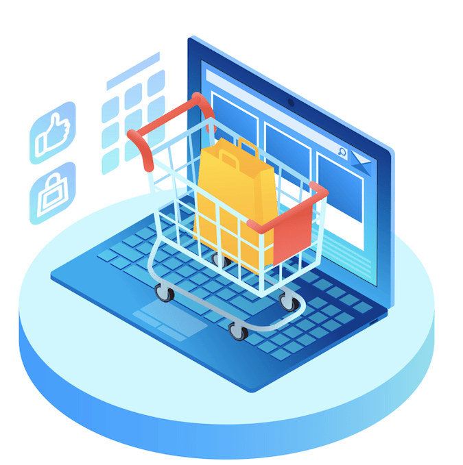 E-commerce imagé