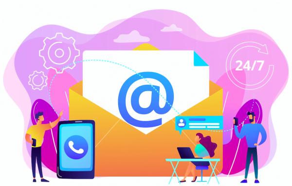 Mails dans le but d'avoir une conversation téléphonique