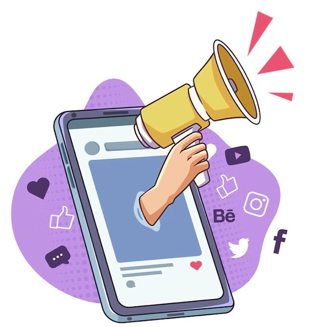 Mis en avant marketing réseaux sociaux