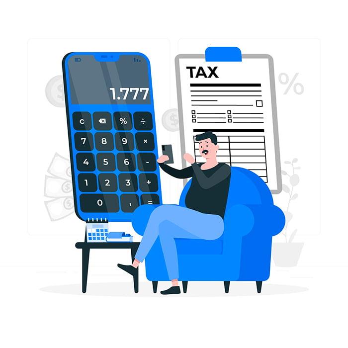 calcul frais de douane
